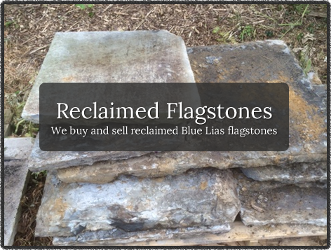 Reclaimed Flagstones - We buy and sell reclaimed Blue Lias flagstones
